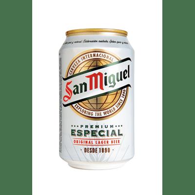 Cerveza Especial SAN MIGUEL- Lata 33 cl - A Spanish Bite