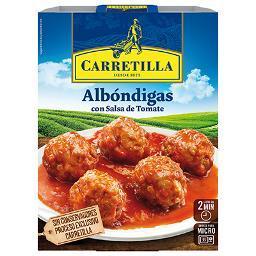 Albóndigas en Salsa de Tomate CARRETILLA - A Spanish Bite