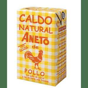 Caldo Natural de Pollo ANETO- 1L - A Spanish Bite