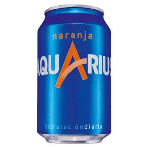 Aquarius Bebida Isotónica Naranja – Lata 33cl - A Spanish Bite