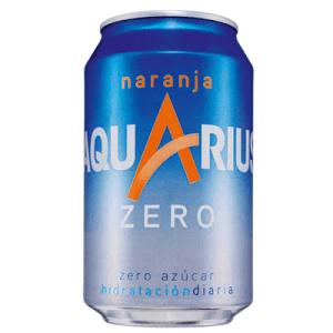 Aquarius Bebida Isotónica Zero Naranja . Lata 33 cl - A Spanish Bite