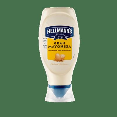 Mayonesa Bocabajo HELLMANN'S- 430 ml - A Spanish Bite