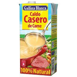 Caldo Casero deCarne 100% Natural. GALLINA BLANCA 1 LITRO - A Spanish Bite