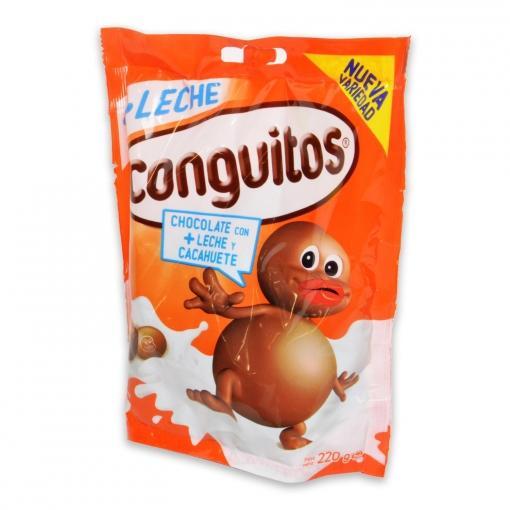Conguitos de chocolate con leche y cacahuetes LACASA 220 gr - A Spanish Bite