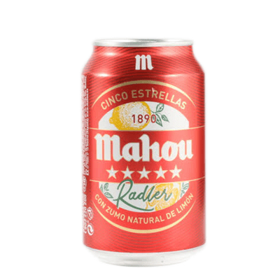 Cerveza Con Limón Radler MAHOU- Lata 33 cl - A Spanish Bite