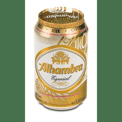 Cerveza Especial ALHAMBRA - Lata 33 cl - A Spanish Bite