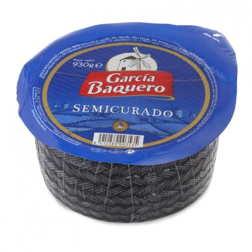 Queso mezcla semicurado GARCIA BAQUERO Pieza 930 gr aprox - A Spanish Bite