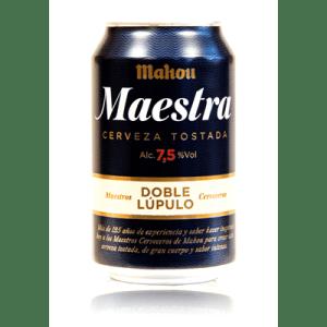 Cerveza MAESTRA de MAHOU- Lata 33 cl - A Spanish Bite