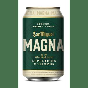 Cerveza Magna SAN MIGUEL - Lata 33 cl - A Spanish Bite