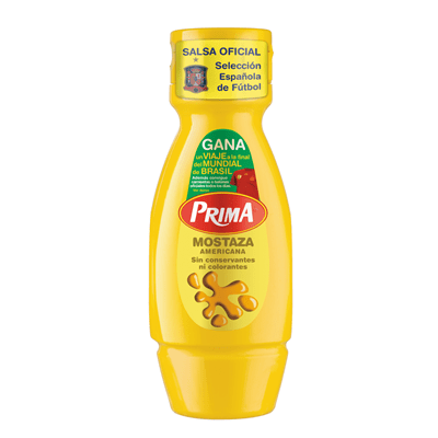 Mostaza Americana PRIMA – 330 gr - A Spanish Bite