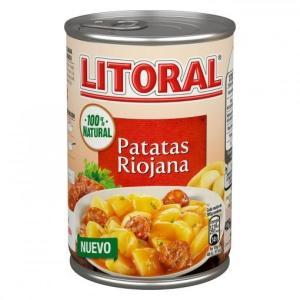 Patatas a la Riojana Litoral - A Spanish Bite