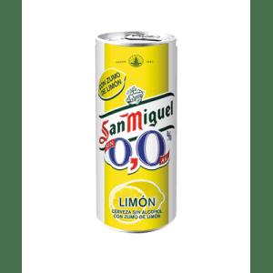 Cerveza 0,0 Limón SAN MIGUEL - Lata 33 cl - A Spanish Bite