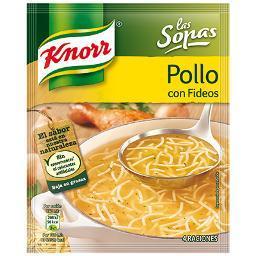 Sopa de Pollo con Fideos Knorr - A Spanish Bite