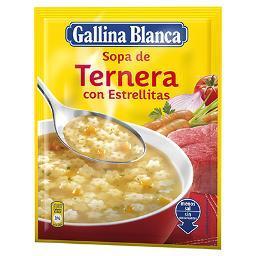 Sopa de Ternera con Estrellitas GALLINA BLANCA - A Spanish Bite