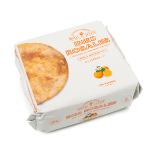 Torta de Aceite con Naranja INÉS ROSALES - A Spanish Bite