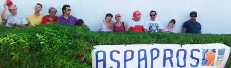 ASPAPROS en la entrega de trofeos concurso de saltos Ciudad de Almería