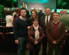 Bandera de Andalucía en Integración Social