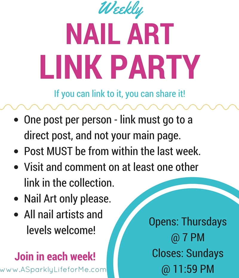 Weekly Nail Art Link Party – the 40th of 2015!