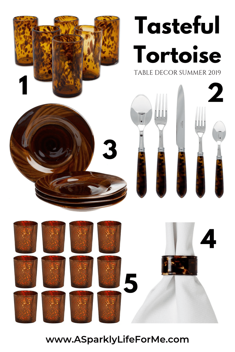 Tasteful Tortoise - Table Decor Ideas