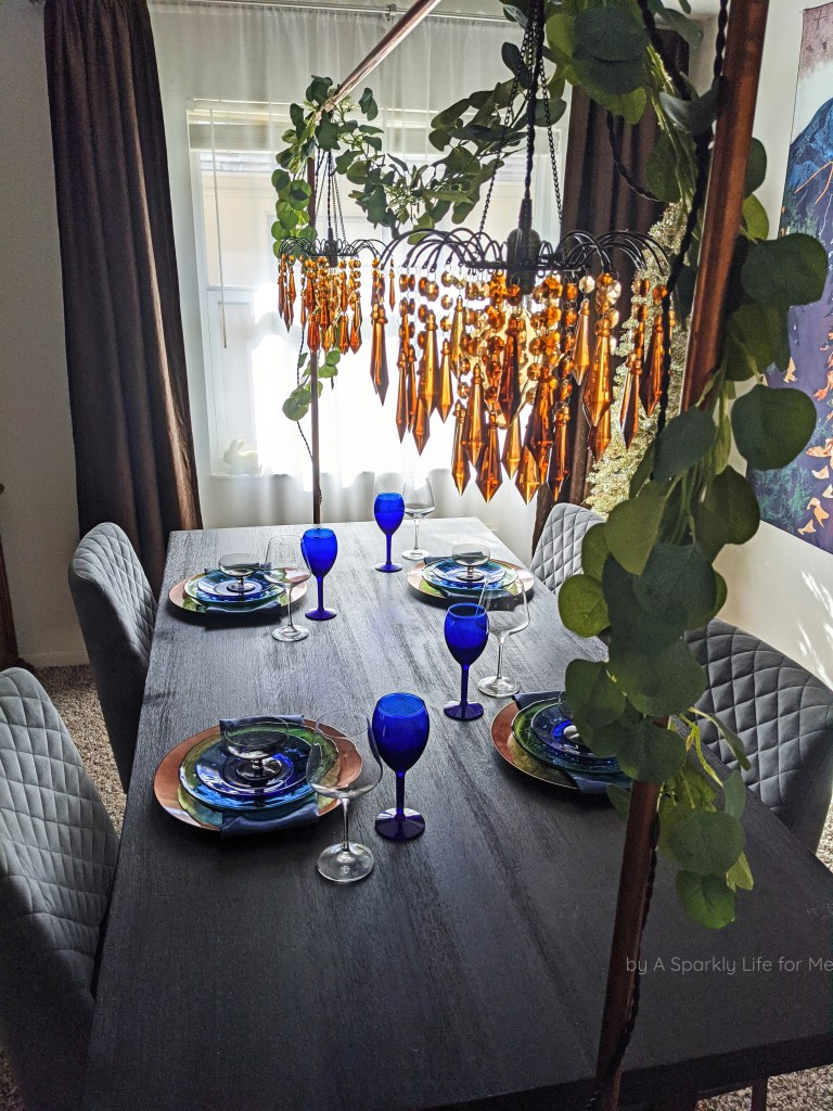Chandelier Centerpiece Table Arch for Fall