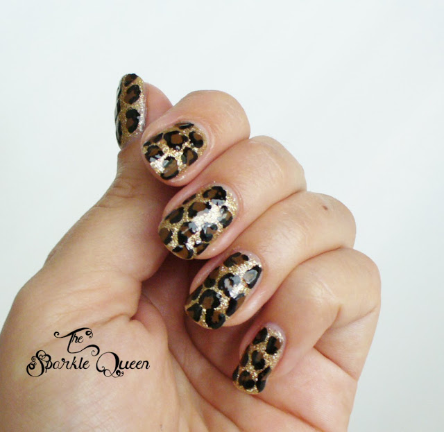 Video Tutorial Leopard Nail Art A Sparkly Life For Me