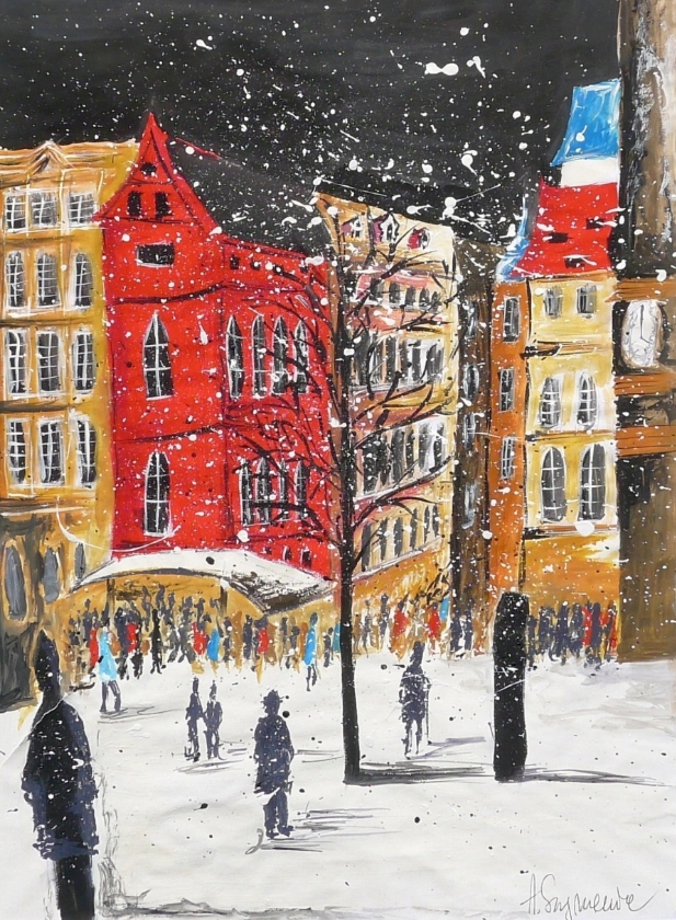 Snowflakes in the City - Agata Szymaniec
