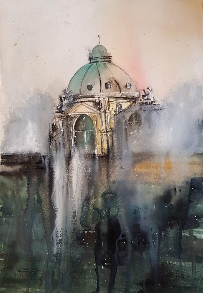 Rainy Oxford