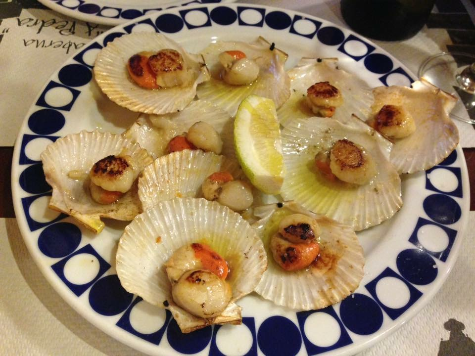 cosa mangiare in Galizia - zamburiñas - aspassoperlaspagna.it