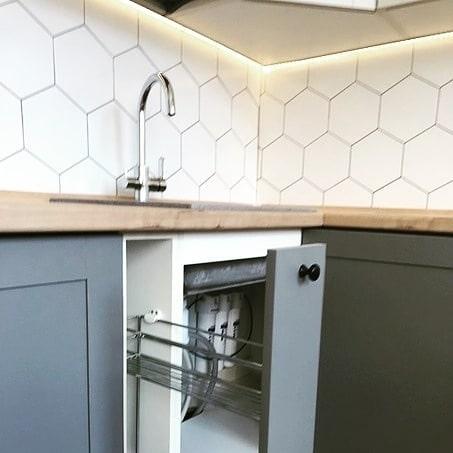 Скандинавский стиль на кухне от Premier Garden