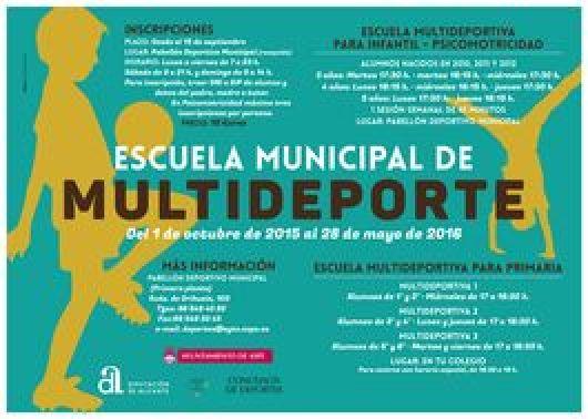 Escuela Municipal de Multideporte