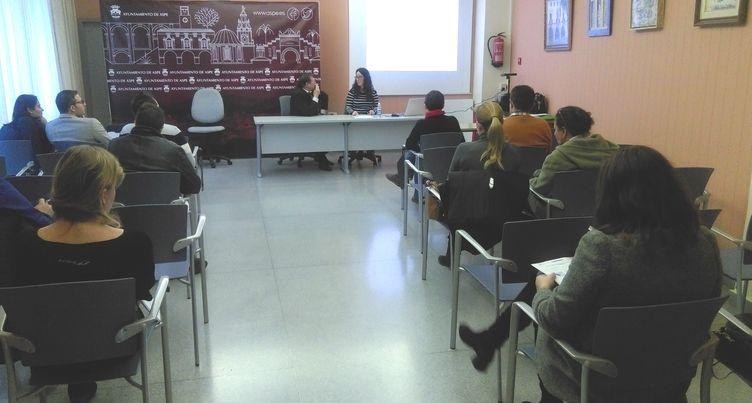 Jornada formativa de Aspe Emprende en el Ayuntamiento de Aspe