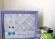 Hoppy Easter Easter Bunny Printable