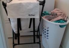 Lifter Hamper Makes Laundry Easier