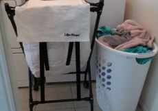 Lifter Hamper Makes Laundry Easier