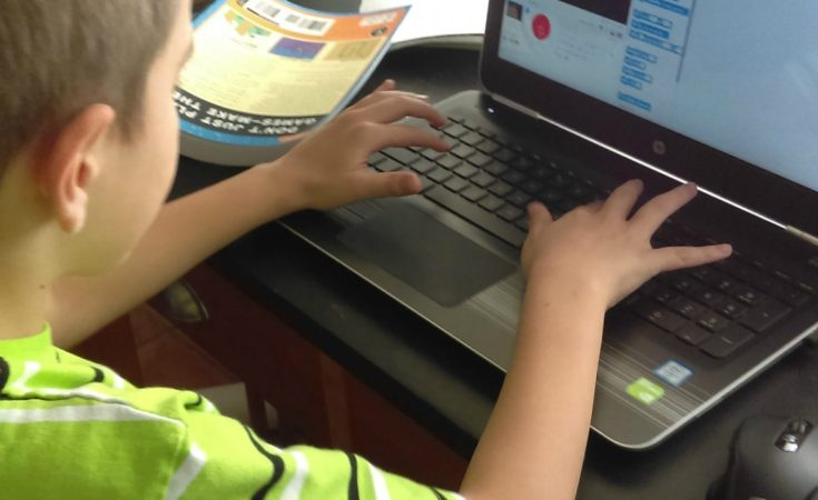 Teaching Your Kids to Code with Scratch, a colorful drag-and-drop programming language, which lets kids connect blocks of code that create interactive stories, games, and animations.