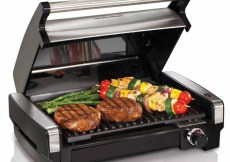 Grill Any Time, Any Place with Hamilton Beach's Indoor Searing Grill