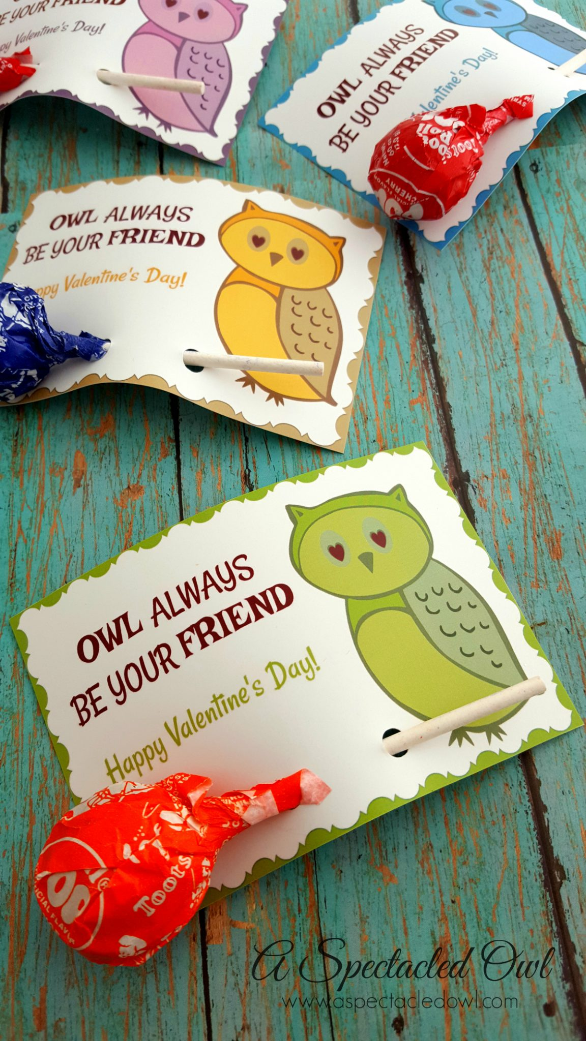 Owl Always Be Your Friend Printable Valentine S Day Cards