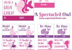 Under the Sea Printable Valentine's Day Cards