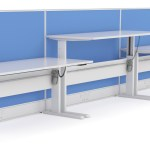 height adjustable workstation melbourne, bendigo, ballarat
