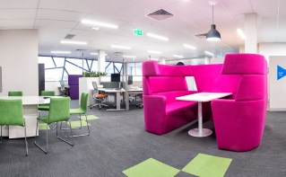 Breakout space, office design