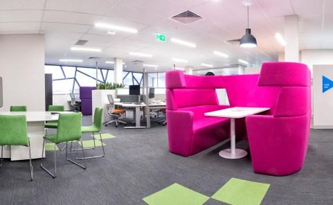 Breakout space, office design