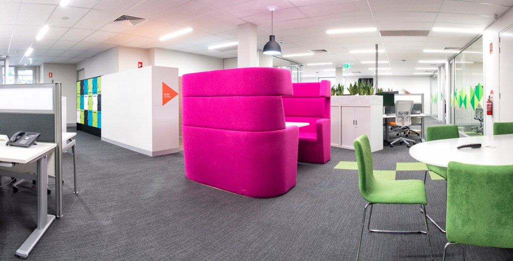 activity based working office fitout