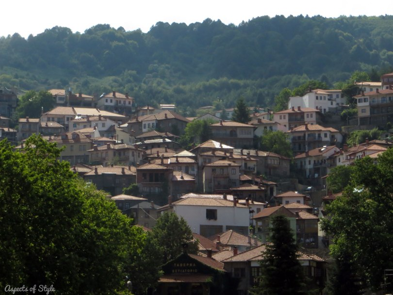Metsovo in Epirus, Greece