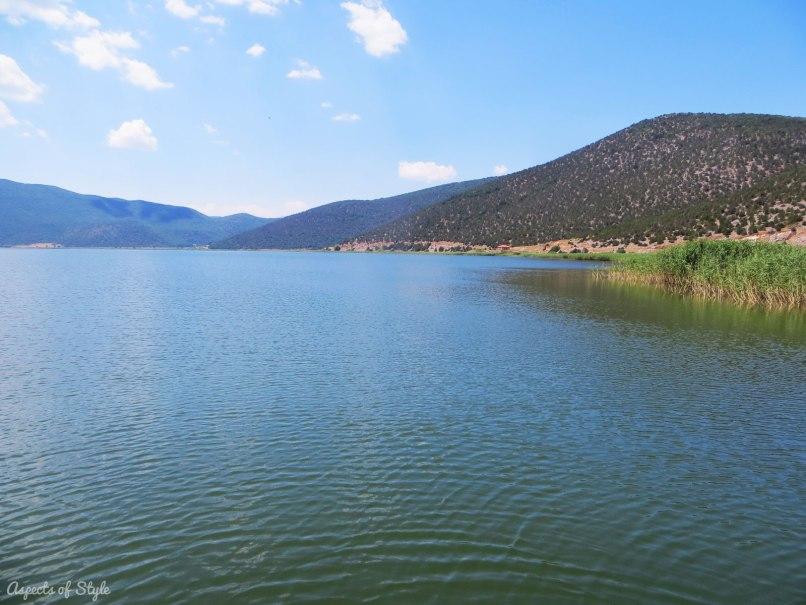 Small Prespa Lake in Macedonia, Greece