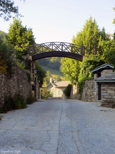 Nymphaio village in Macedonia, Greece