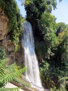 the waterfalls of Edessa in Macedonia, Greece