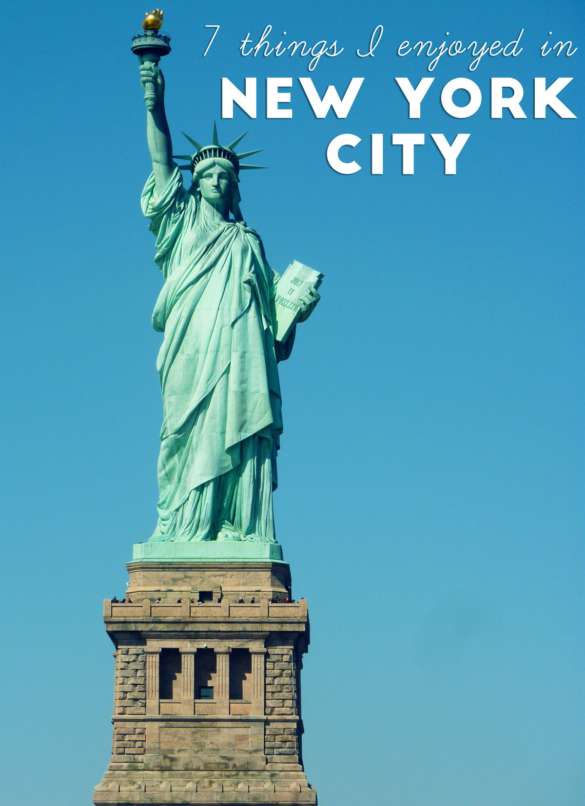 7 things to do in new york city for Things to do in new yok