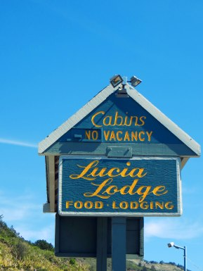on the road, Lucia Lodge
