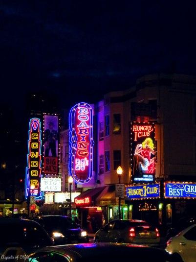Broadway street, San Francisco