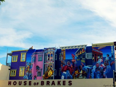 Murals in Mission District, San Francisco